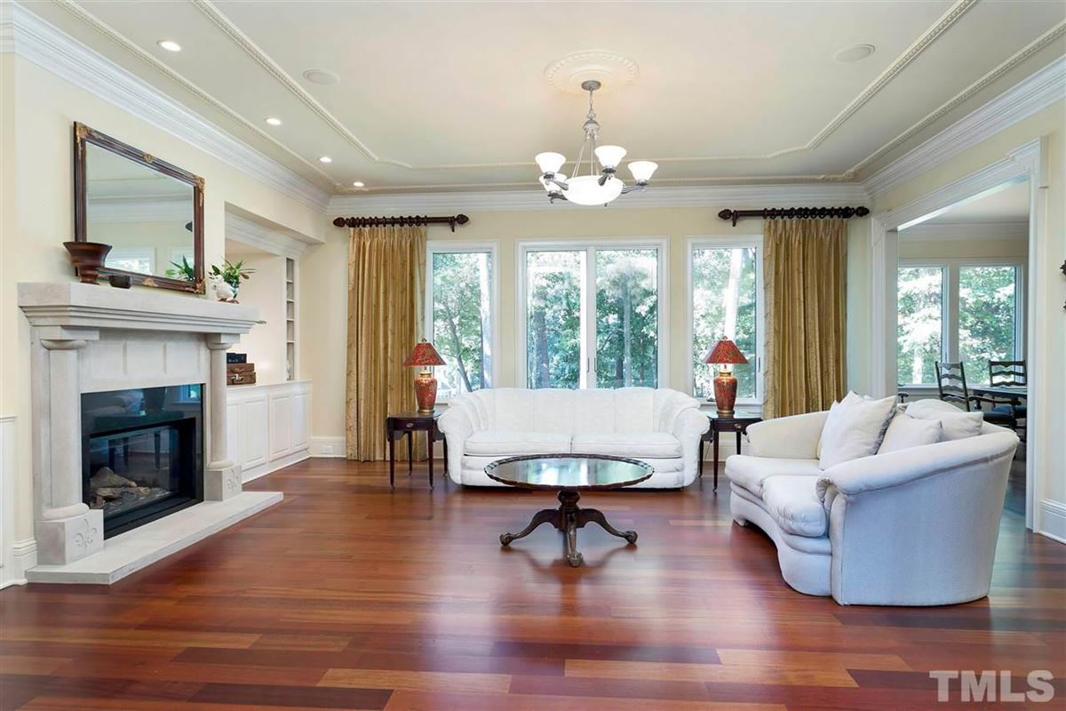 Magnificent Country French estate on MacGregor Downs golf course luxury homes