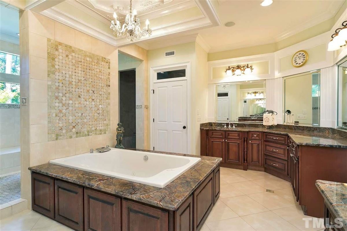Mansions in Magnificent Country French estate on MacGregor Downs golf course