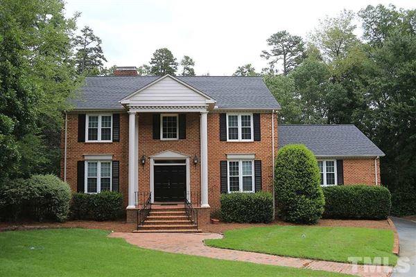 All Brick Mansion In Chapel Hill North Carolina Luxury Homes