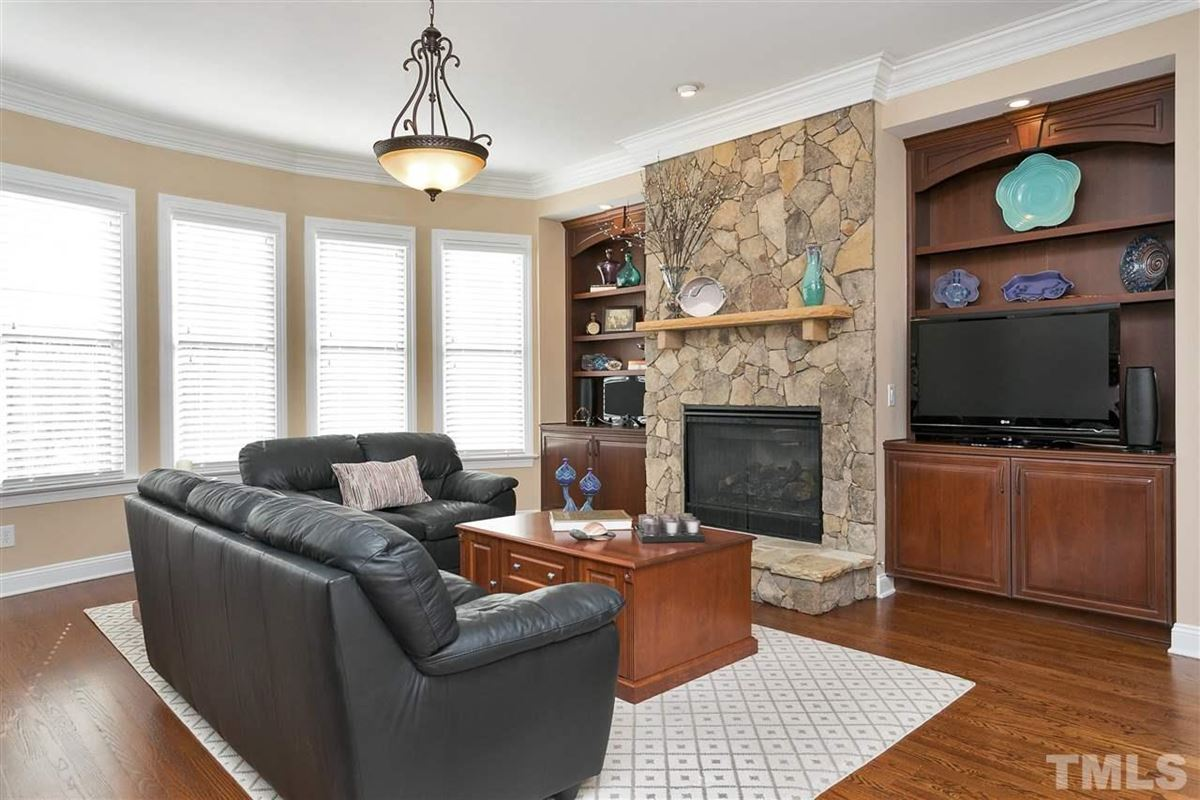 Stately executive home in prime Cary location luxury homes