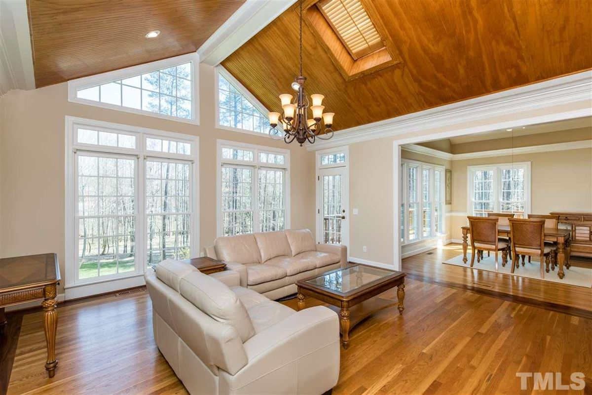 Spacious Custom Home with Vaulted Ceilings luxury homes