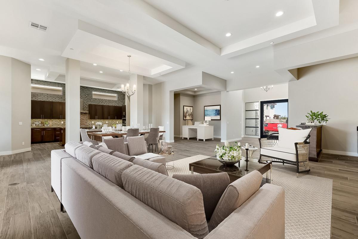 Luxury homes in Top Selling William Lyon model in lake las vegas