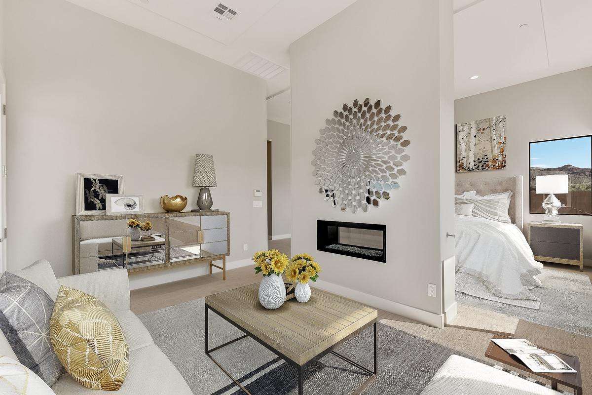 Luxury real estate Top Selling William Lyon model in lake las vegas