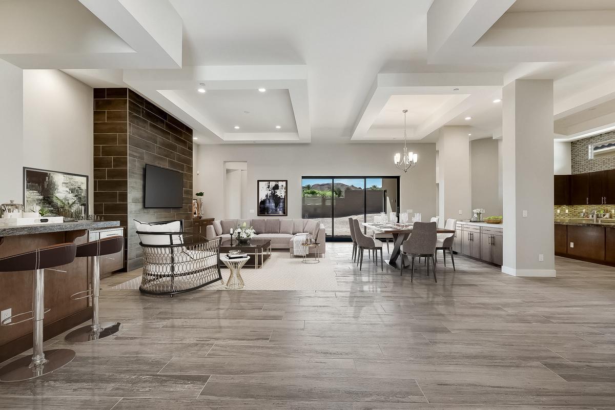 Luxury homes Top Selling William Lyon model in lake las vegas