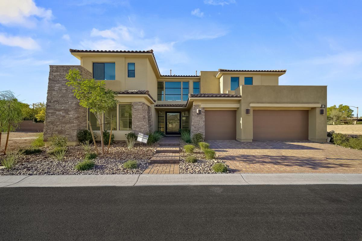 Brand New William Lyon Home in Lake Las Vegas luxury homes