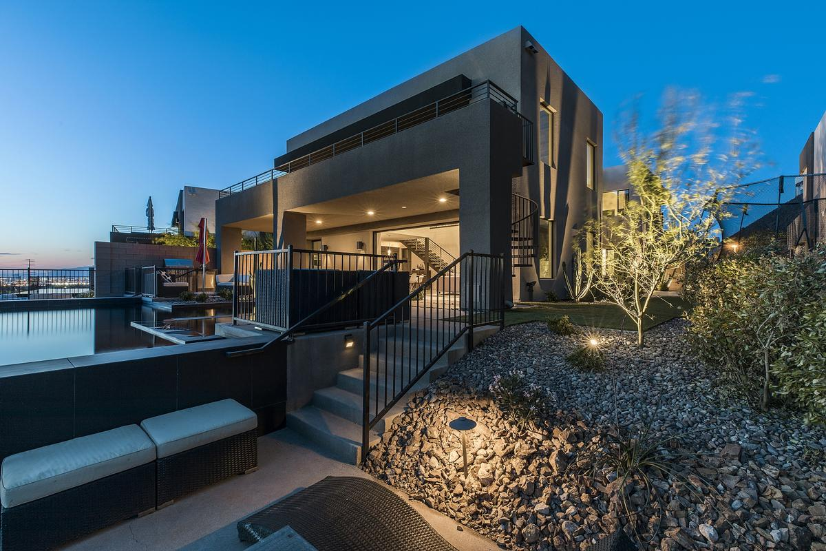 Blue Heron Las Vegas Modern Nevada Luxury Homes