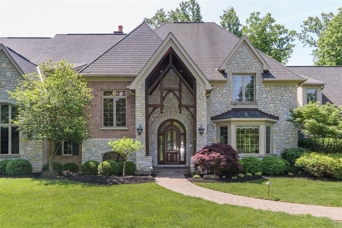 Luxury homes gorgeous custom home on three private wooded acres