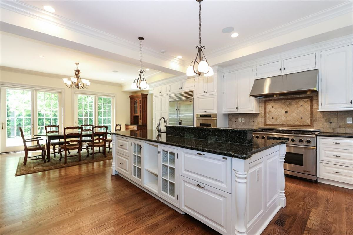 Mansions in gorgeous custom home on three private wooded acres