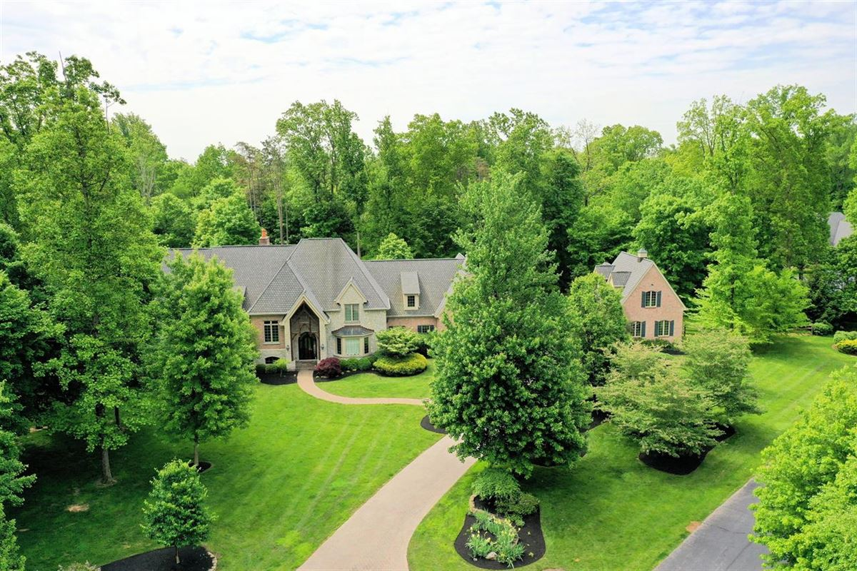 gorgeous custom home on three private wooded acres luxury homes