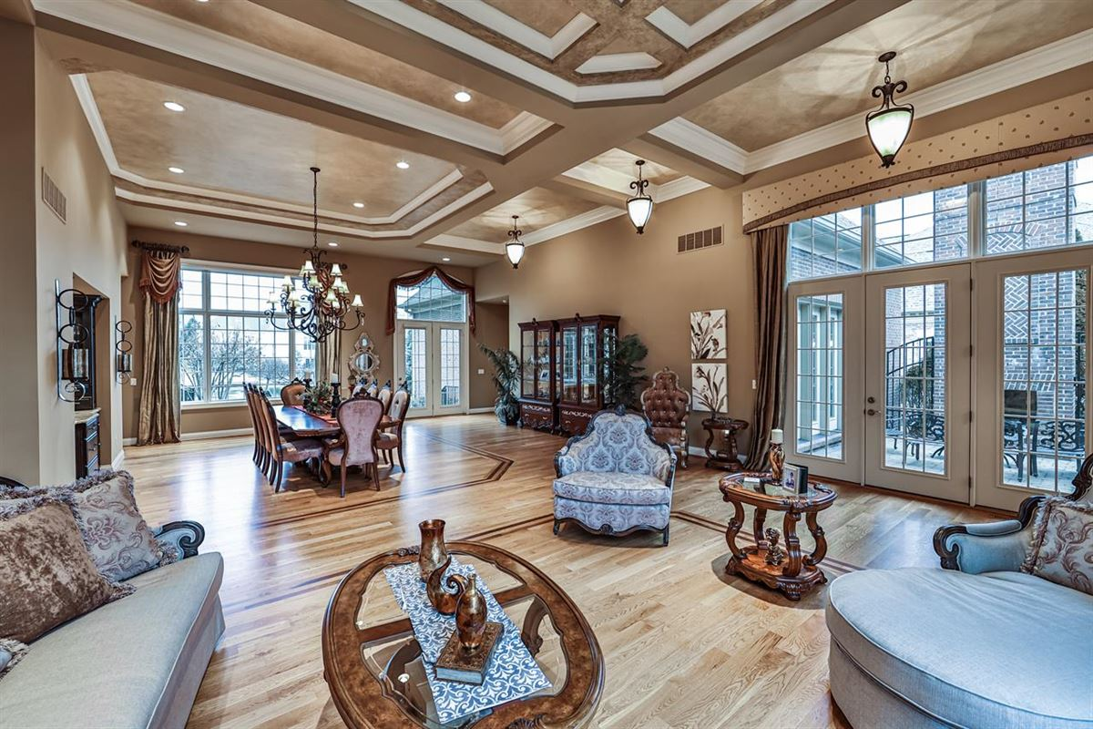 Luxury real estate A stunning home with views