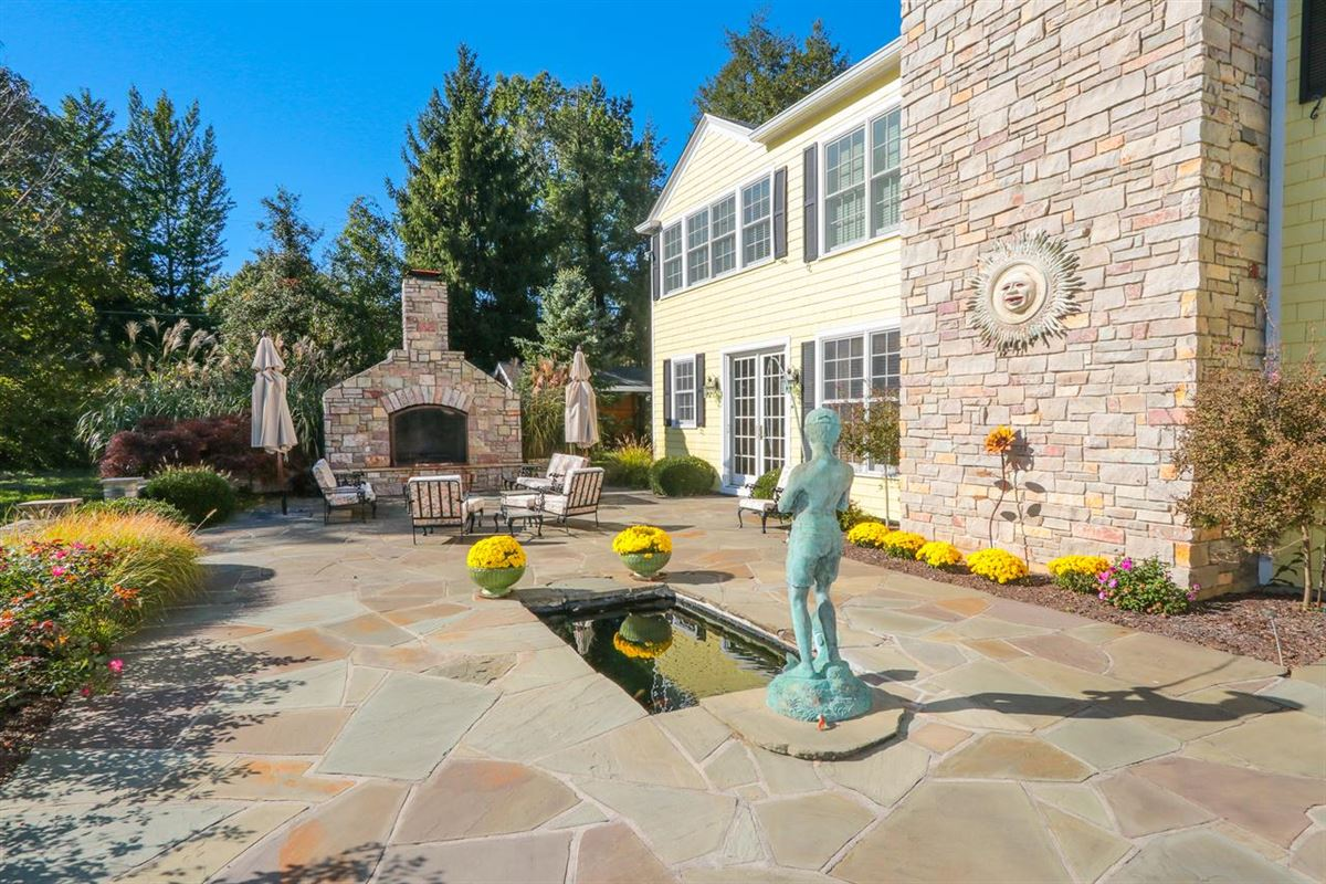 Luxury real estate exceptional estate property boasts rich details throughout