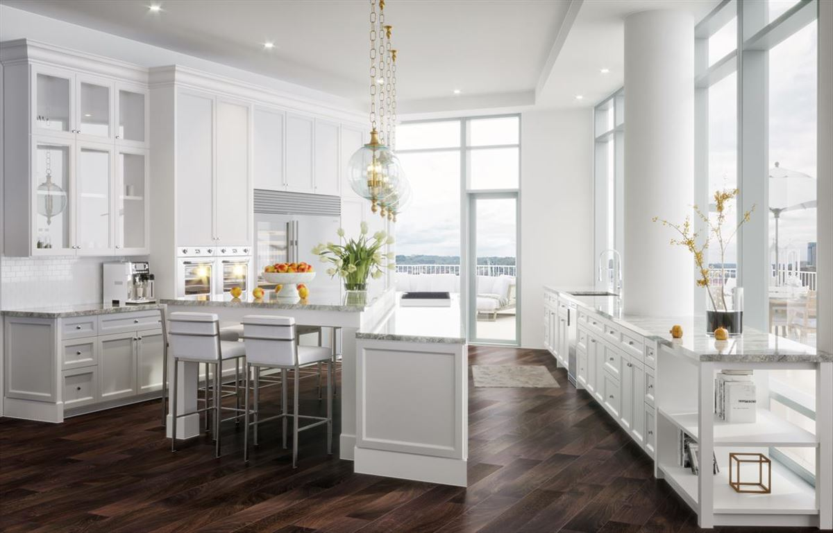blank canvas on the top floor luxury homes