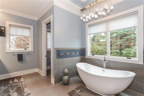 Amazing Transitional with custom amenities luxury homes