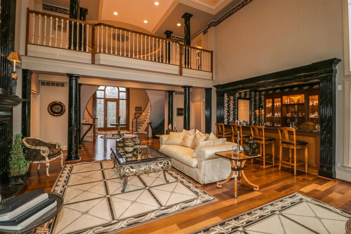 Mansions Opulent and Luxurious  Living on Over Five Acres
