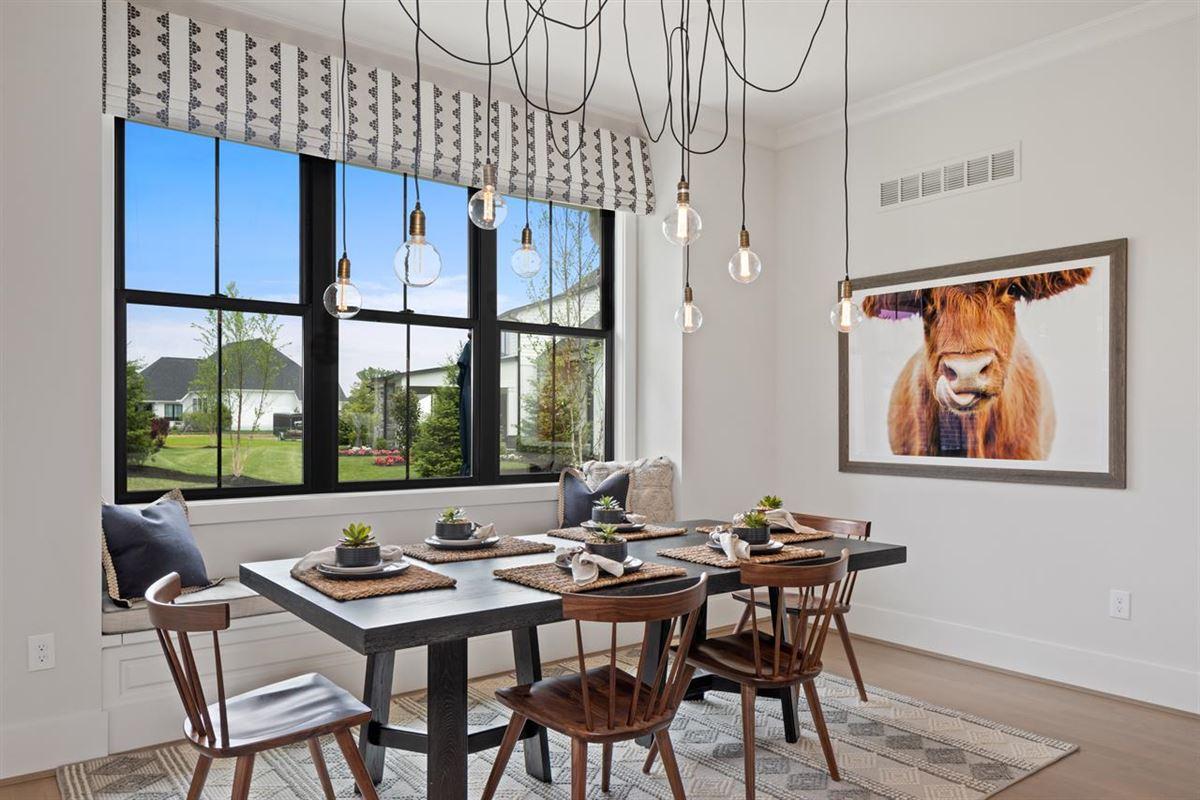 Luxury homes in luxury new urban farmhouse