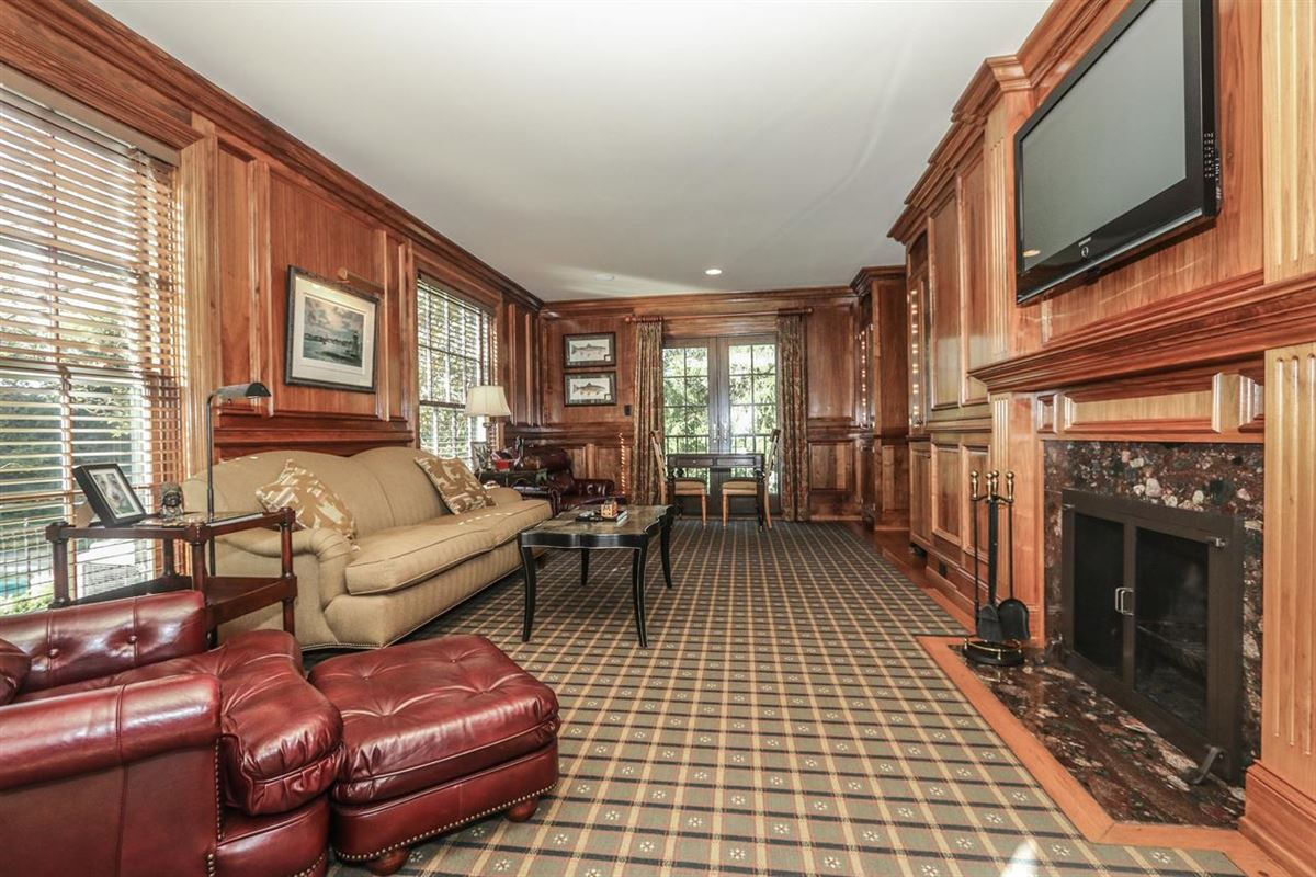 Luxury properties impeccable classic home in a private setting