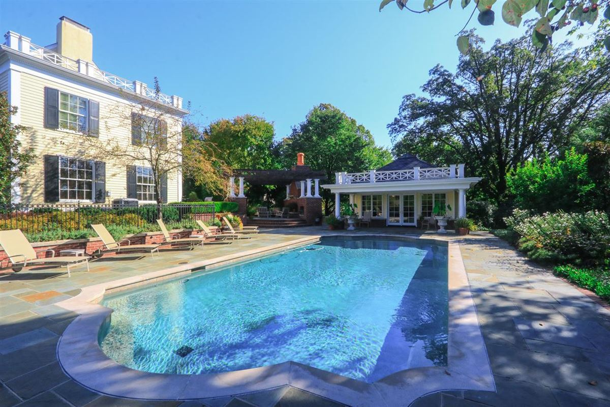 impeccable classic home in a private setting mansions