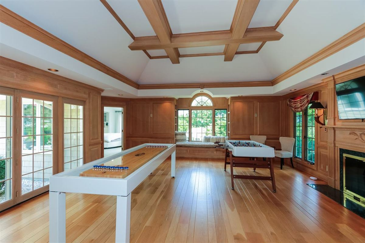 Stunning ranch on very private three acres mansions