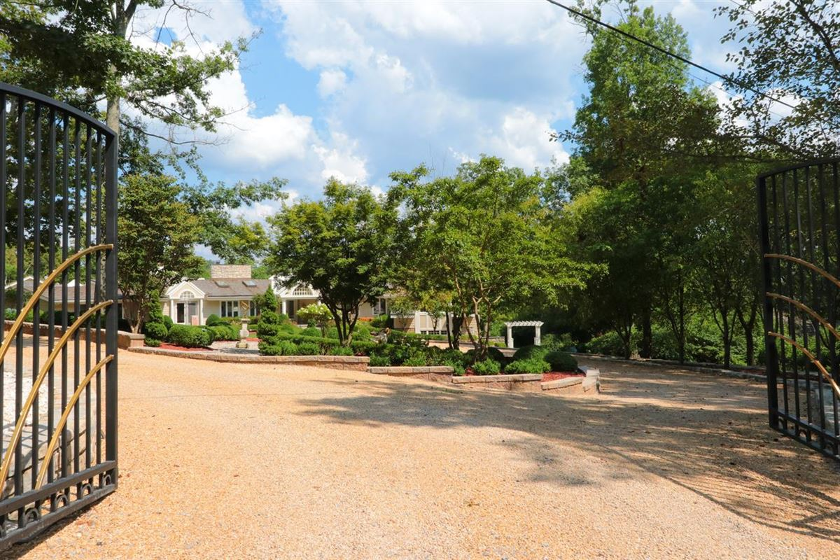 Luxury homes in Stunning ranch on very private three acres