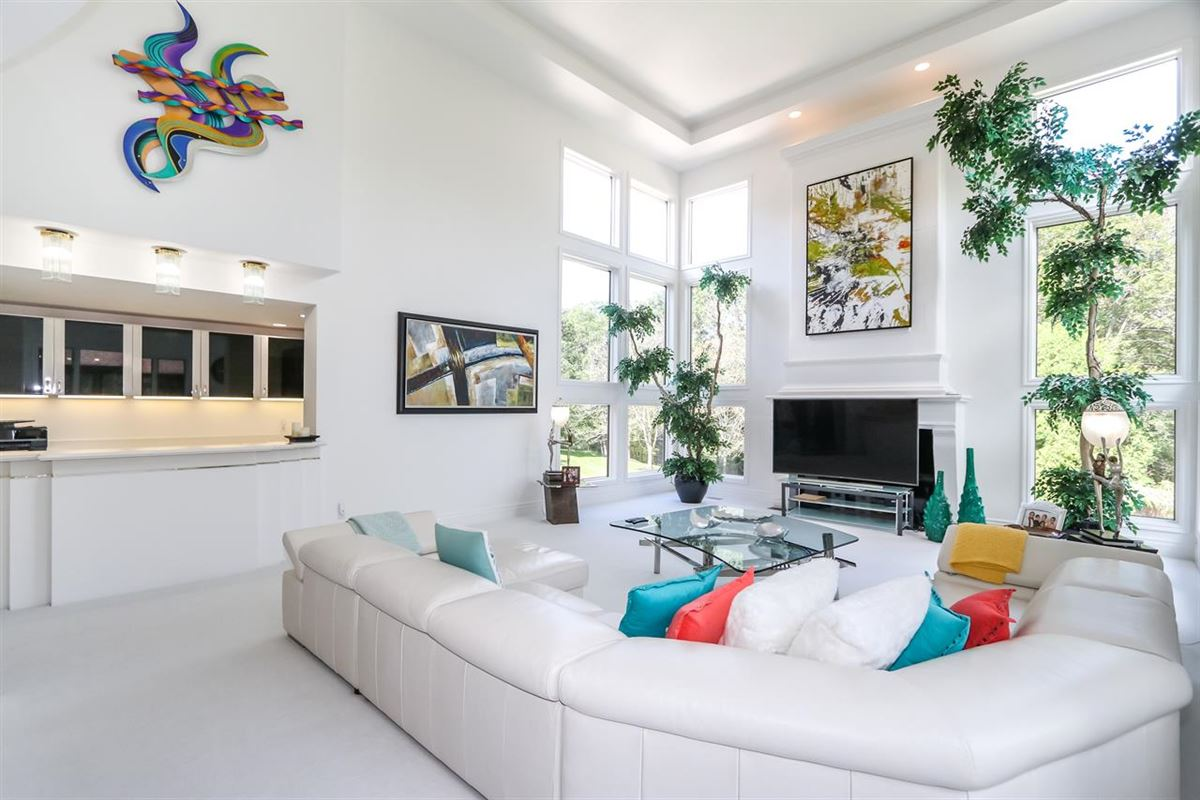 Luxury real estate Spacious contemporary on four private acres