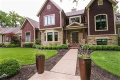 Amazing Transitional home with custom amenities luxury homes