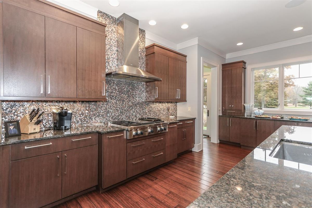Luxury homes in Amazing Transitional home with custom amenities