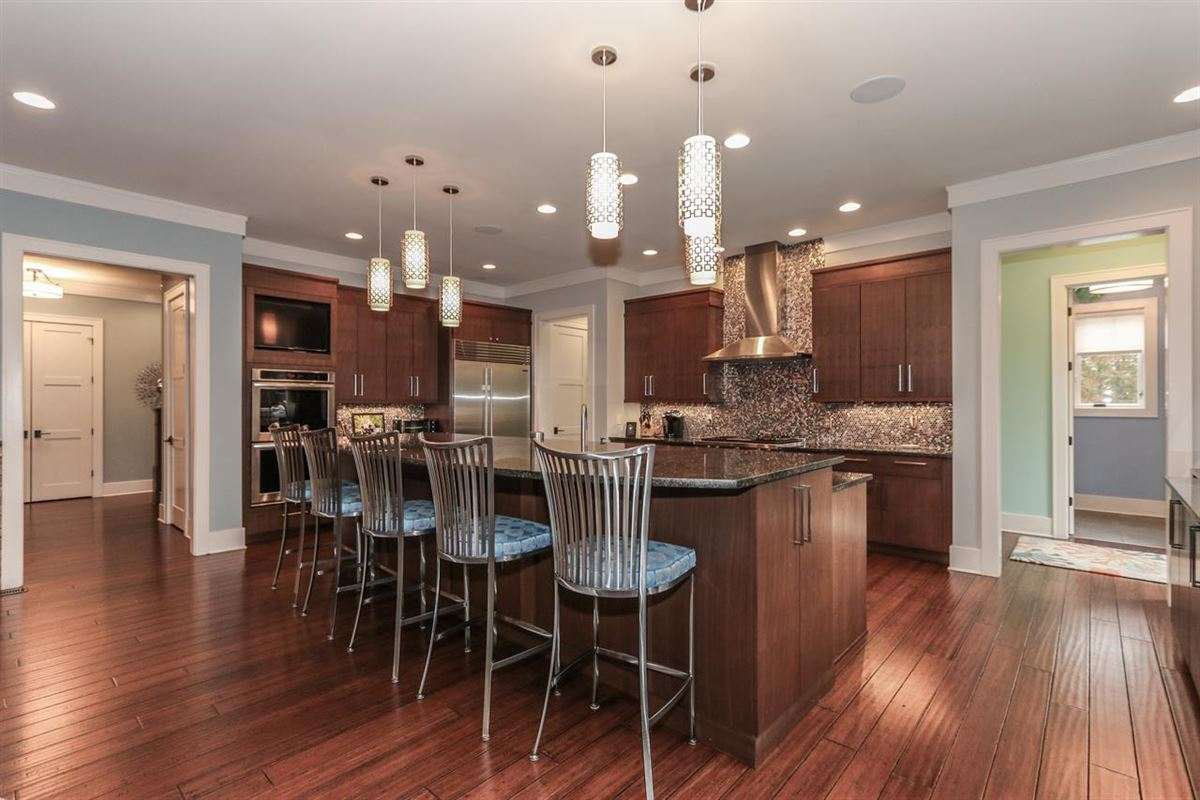Mansions in Amazing Transitional home with custom amenities