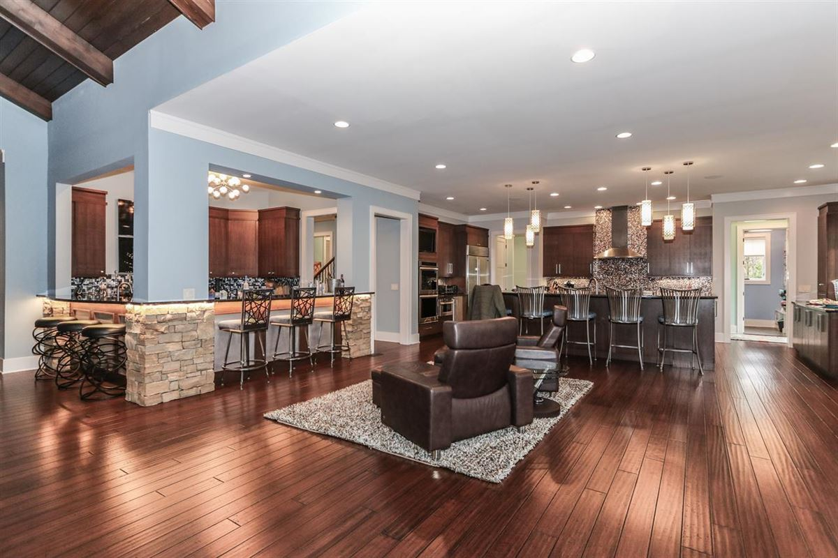 Amazing Transitional home with custom amenities mansions