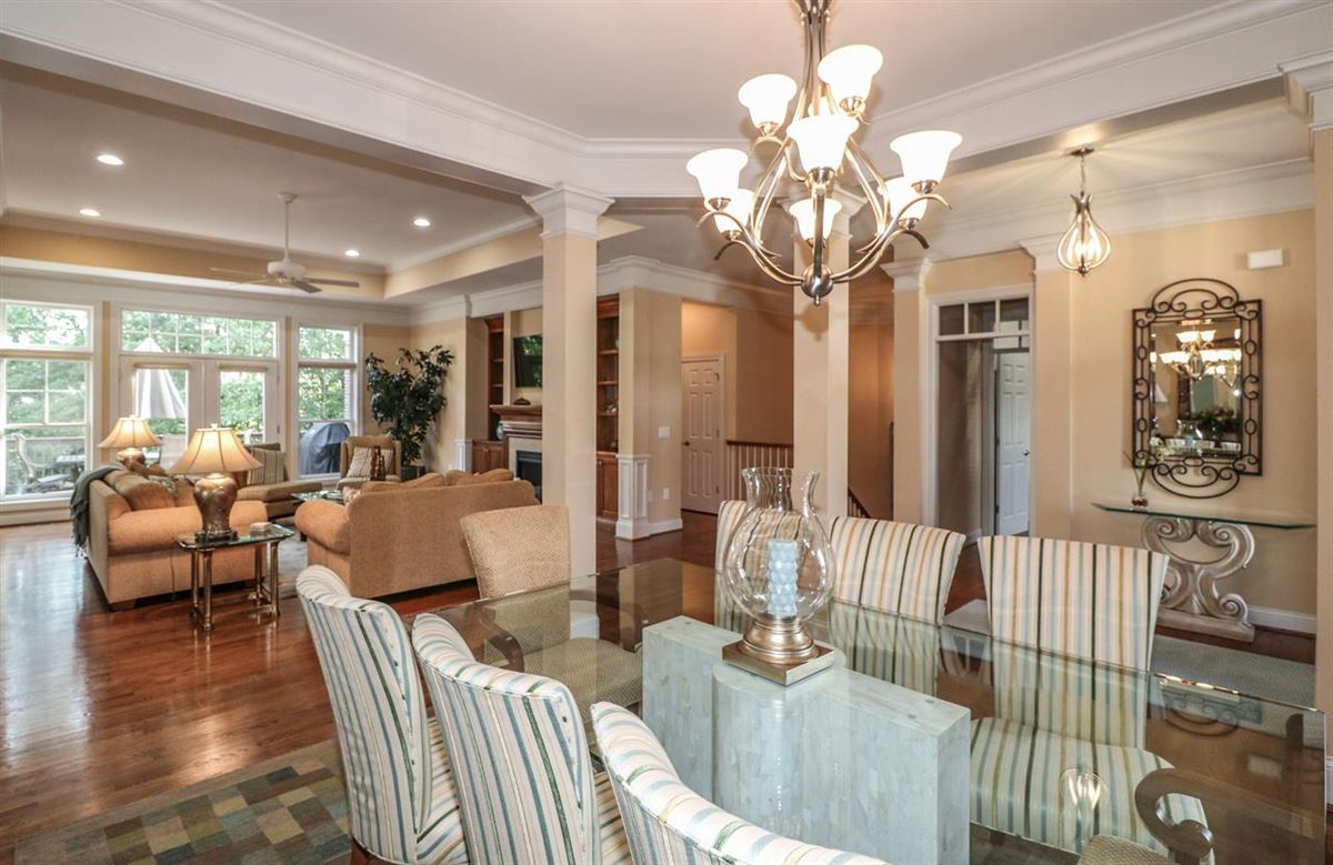 Dramatic Hanover club home luxury real estate