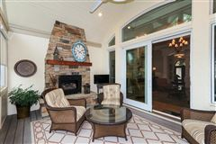 Luxury homes in Beautiful custom ranch on three wooded acres