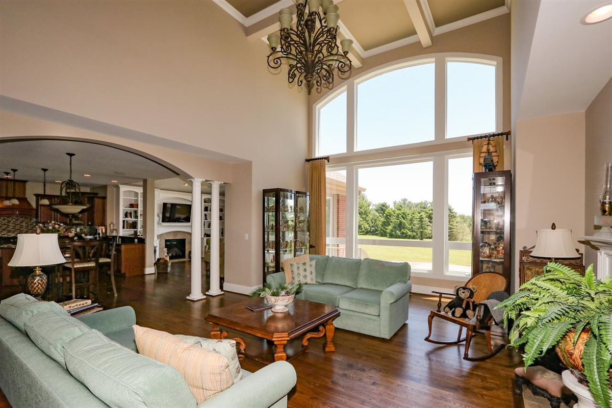 Luxury real estate Beautiful, Custom Home on 14+ Acres
