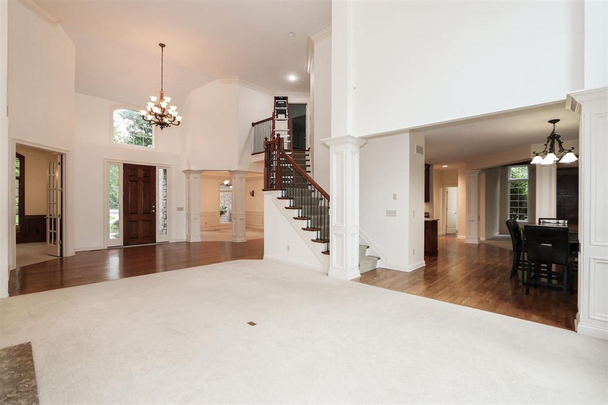 Custom home on desirable cul-de-sac  luxury real estate
