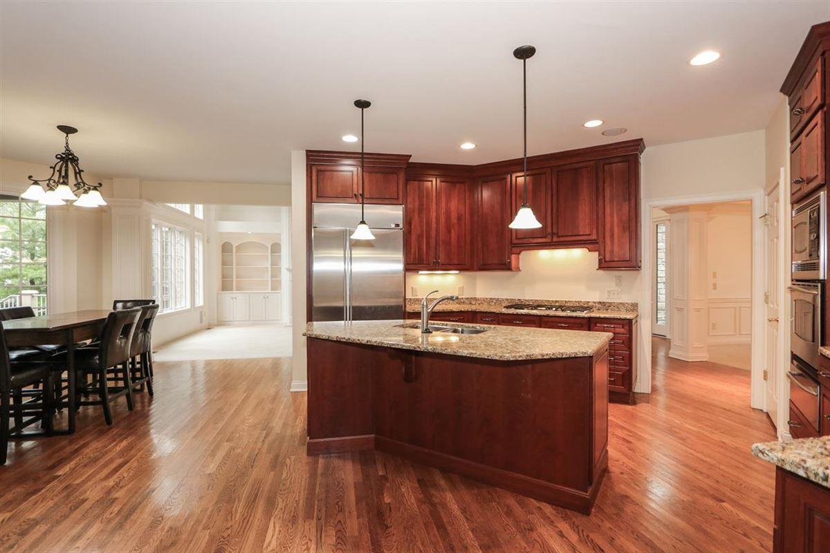 Custom home on desirable cul-de-sac  luxury properties