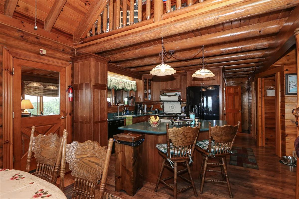 Mansions Beautiful, 79-acre equestrian estate with log home