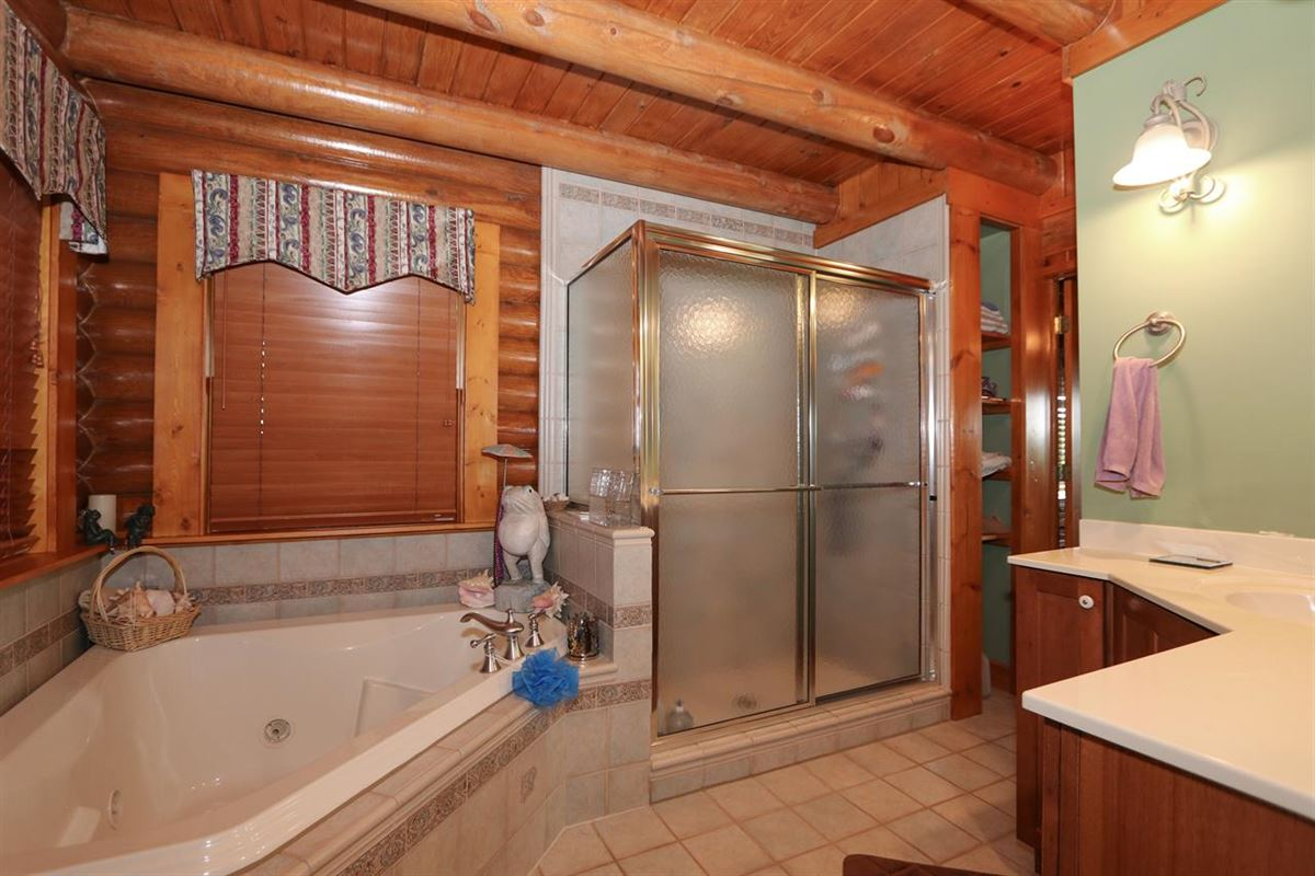 Beautiful, 79-acre equestrian estate with log home luxury homes