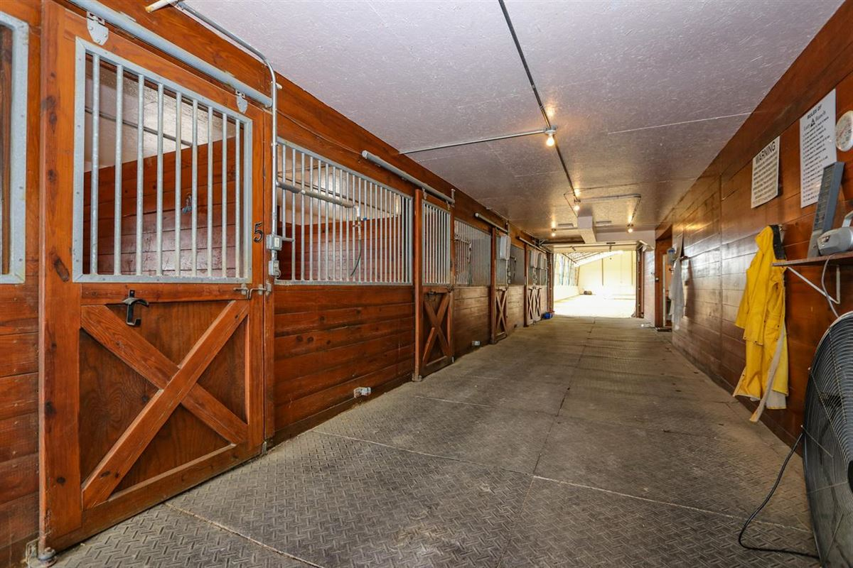 Mansions in Beautiful, 79-acre equestrian estate with log home