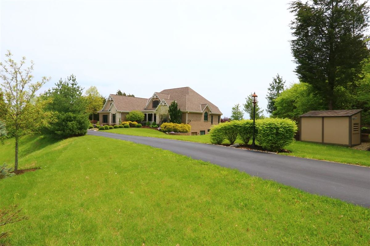 Custom Home with 15 Gorgeous Acres luxury real estate