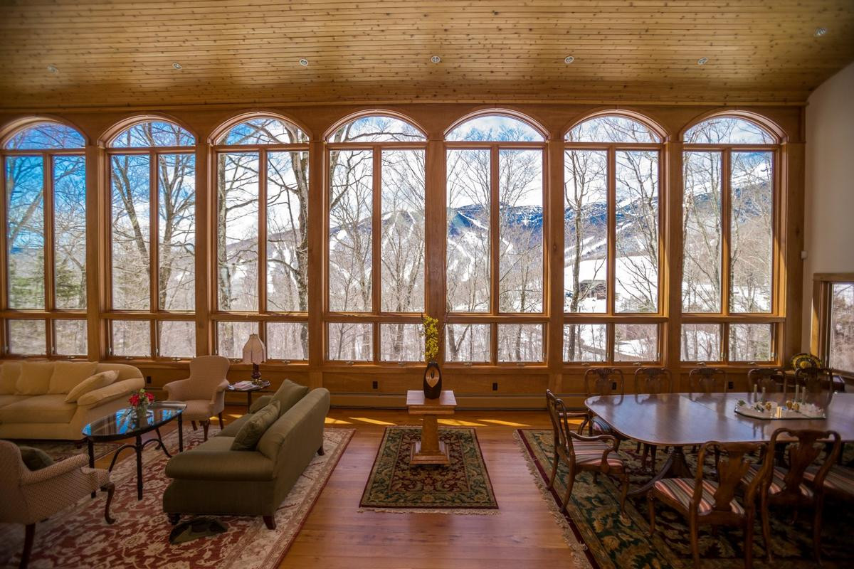Luxury real estate Spruce Peak Mountain Home