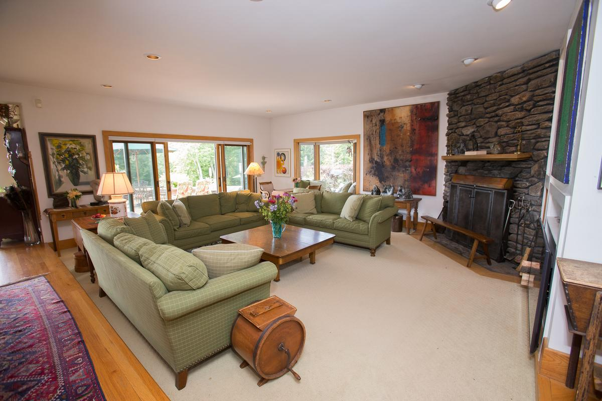 Luxury real estate quintessential Vermont country living