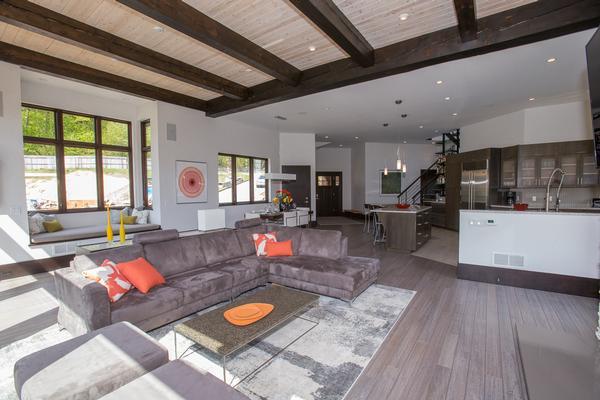 Luxury homes Spruce Peak at Stowe