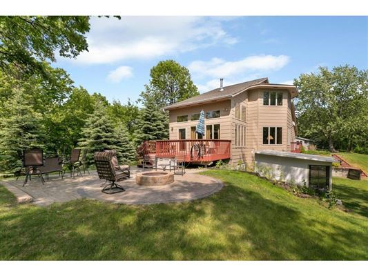 Nearly six acres on a private lake peninsula mansions