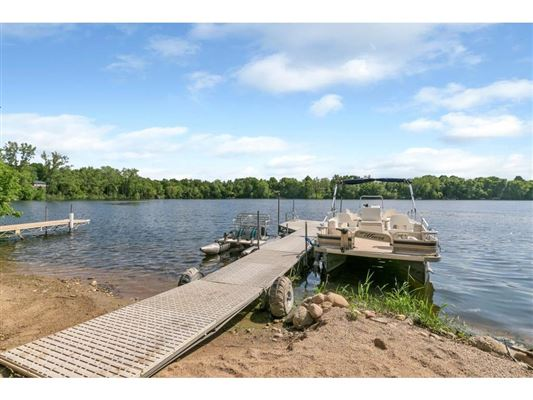 Nearly six acres on a private lake peninsula luxury homes