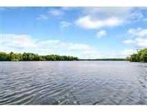 Nearly six acres on a private lake peninsula luxury real estate