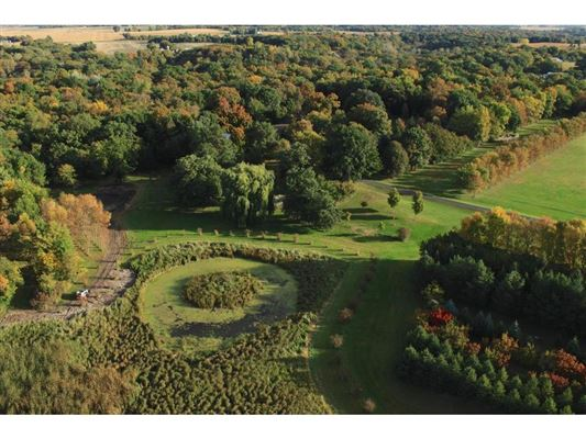Luxury homes in over 50 park-like acres