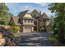 unique custom home on private peninsula  luxury properties