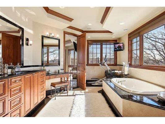 unique custom home on private peninsula  luxury homes