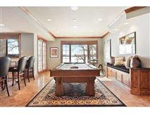 unique custom home on private peninsula  mansions