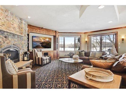 Luxury properties unique custom home on private peninsula