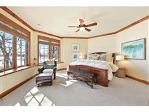 unique custom home on private peninsula  luxury real estate
