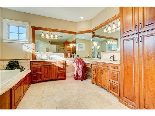 expansive estate on private Gem Lake luxury real estate